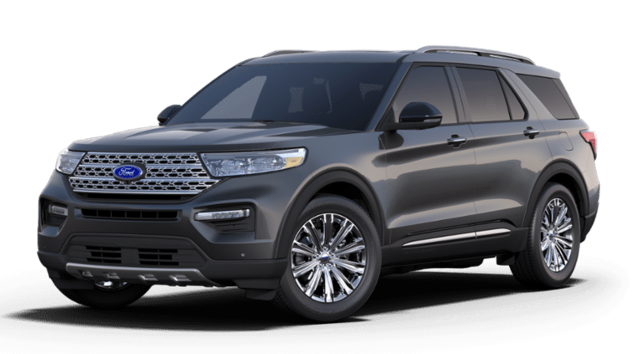 2020 Ford Explorer Limited 4WD SUV